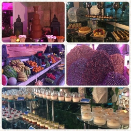 Desserts, fruits, dates